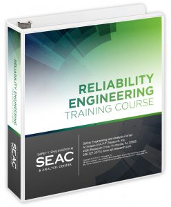 Reliability Engineering Training Courses book