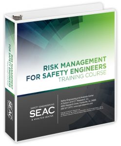 Risk Management for Safety Engineers Training book